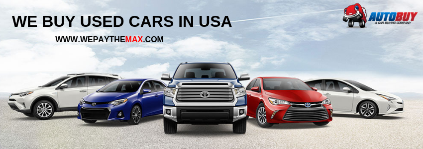 We Buy Used Car In USA And We Pay The Max